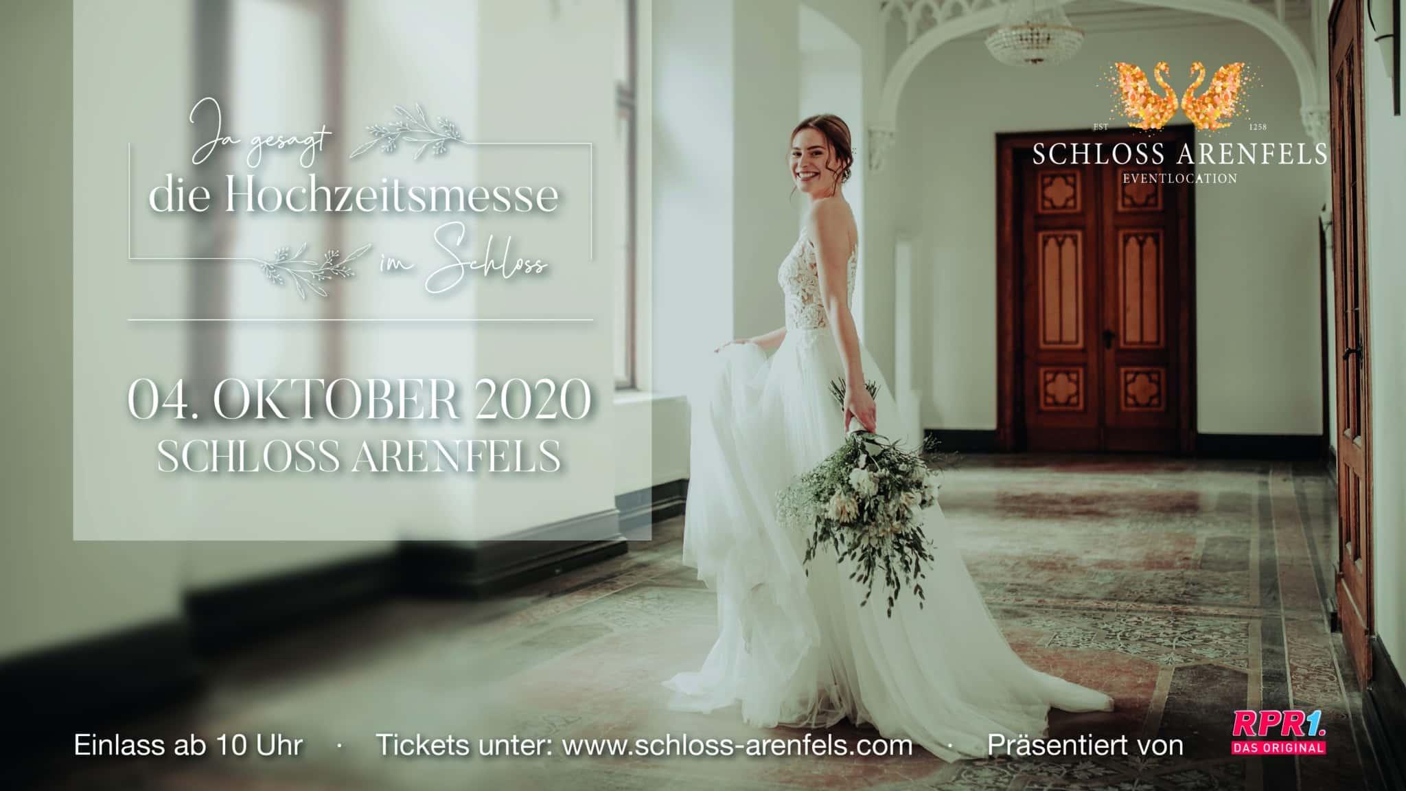 Hochzeitsmesse Schloss Ahrenfels 04.10.2020
